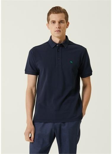 Etro Polo Yaka T-shirt Lacivert